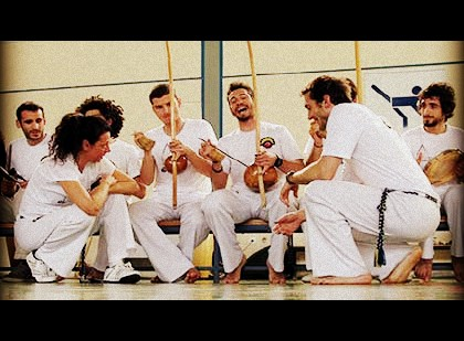 Video presentation of the Capoeira SouEu Milan-Athens group